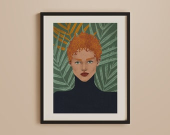 Custom Portrait Illustration, Illustrator for hire, Retro style portraits, Digital portrait download, custom artwork, people and portraits