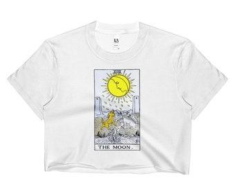 The Moon Tarot Crop Top