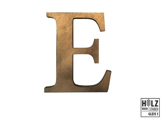 1 Sticker Buchstaben Groß schreibschrift Zahlen und Sonderzeichen 11 mm Gold