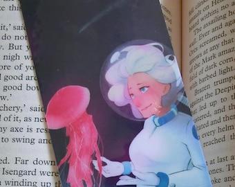 Jellyfish - Original Art Bookmark
