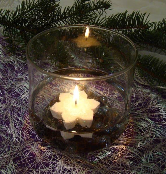 Weiße Kerze Stern Weihnachtskerze Hochzeit Weihnachten | Etsy