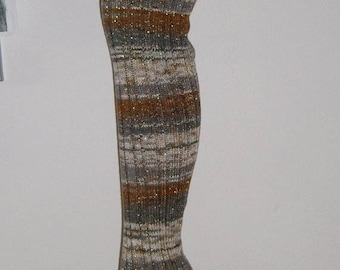 Overknees leg warmers