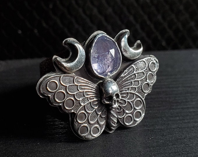 Mothterfly & Moons Tanzanite Ring | Size 8.75