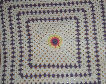 Baby lavender colored blanket