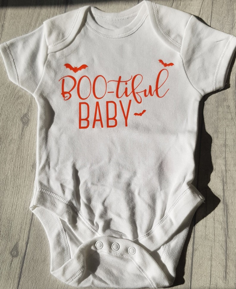 1ce7116b7 Boo-tiful baby baby vestbaby vest 0-3 months Halloween