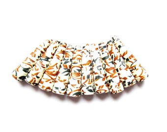 lot 10 pearls paper cone, ethnic, 20mm