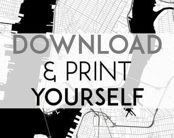 Digital Version - Any MinimalMapDesigns listings