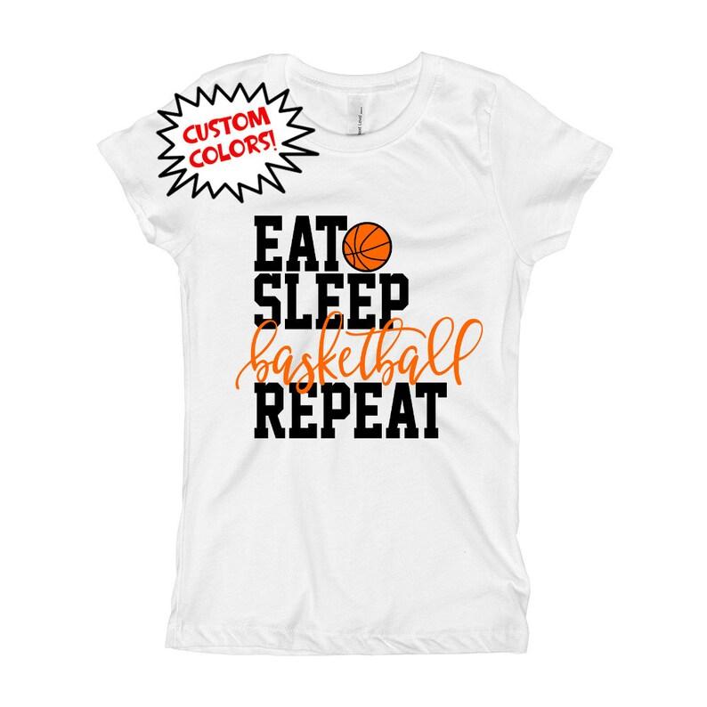 70ce1e8e77a Girls Basketball Shirt Basketball Baby Outfit Bodysuit Eat