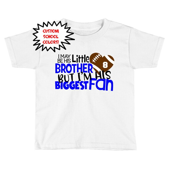 Football Brother Shirt Little Brother Football Baby Clothes  dea80fd14