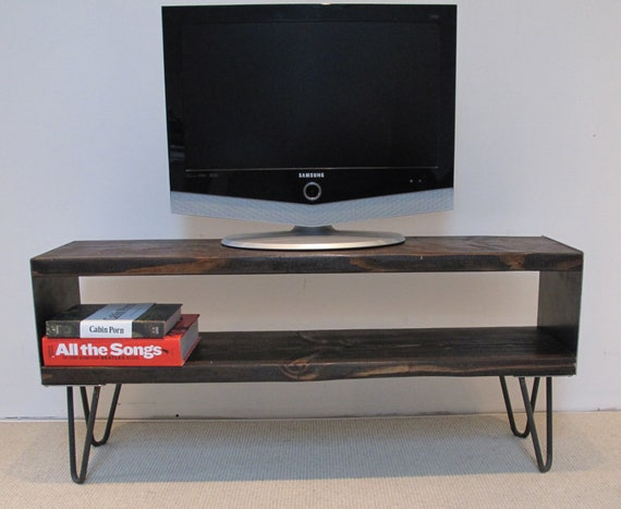 Reclaimed Wood Tv Stand Modern Tv Stand Wood Entertainment Etsy
