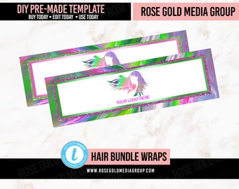 Paper Wraps 2.5x11 Personalized and Printed we can add your logo or pick from any premade design