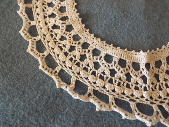 Vintage 1930's 1940's cotton Hand Crocheted Ladie… - image 6