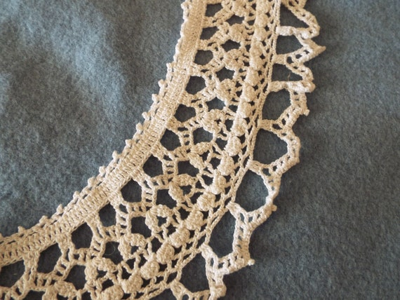 Vintage 1930's 1940's cotton Hand Crocheted Ladie… - image 5