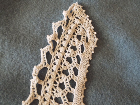 Vintage 1930's 1940's cotton Hand Crocheted Ladie… - image 3