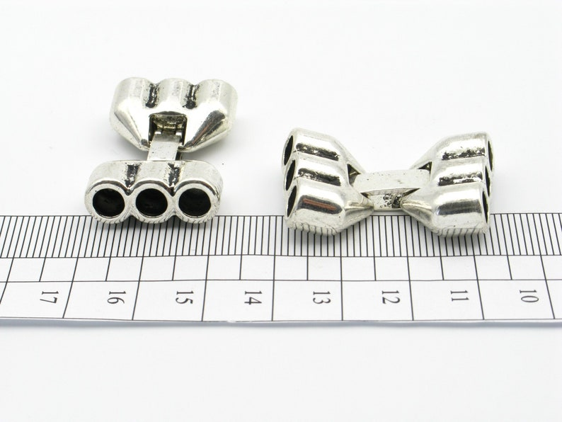 10Pcs for 10*5mm Flat Round Leather ends clasp Antique silver  Antique Bronze Jewelry Supplies Jewelry Finding
