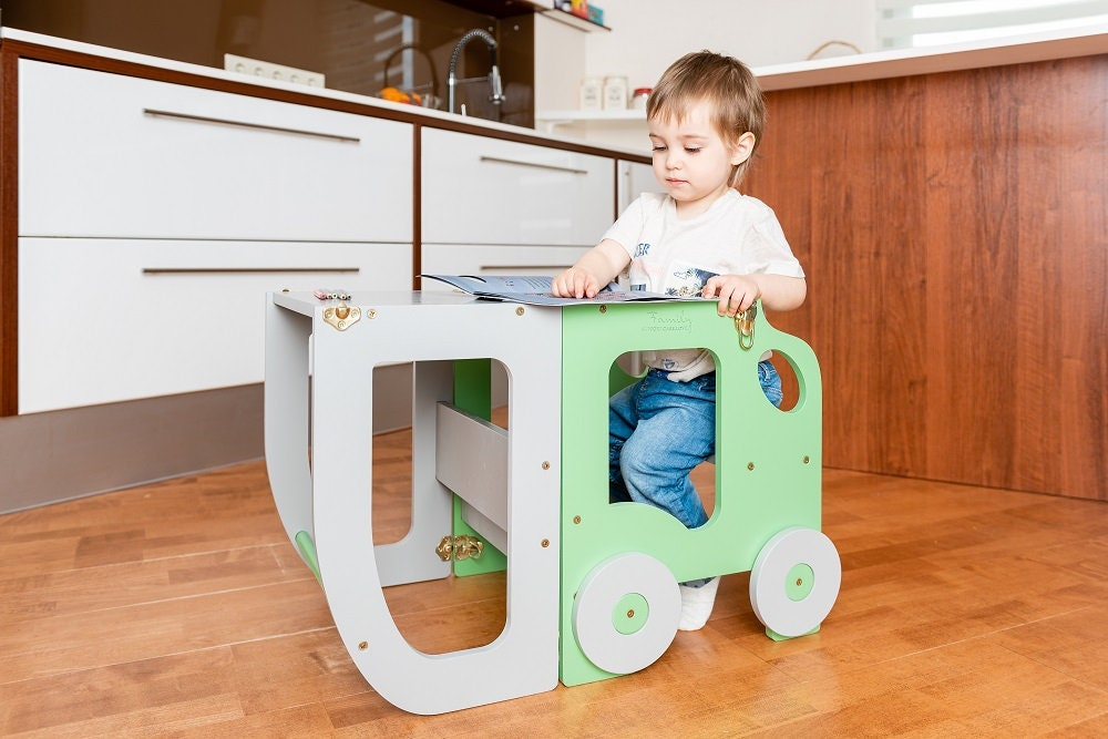 Kitchen Step Stool For Children Table And Chair