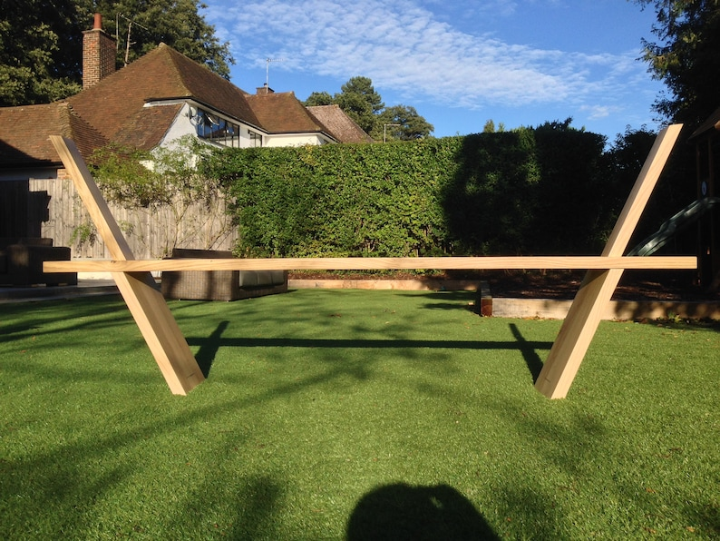 Solid Oak Bench Made from British Oak  For inside or outside image 0