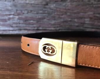 853c5934847 Vintage gucci belt