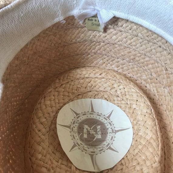 Sierra Club Straw Hat, Sun Hat, Summer Hat, Straw… - image 3