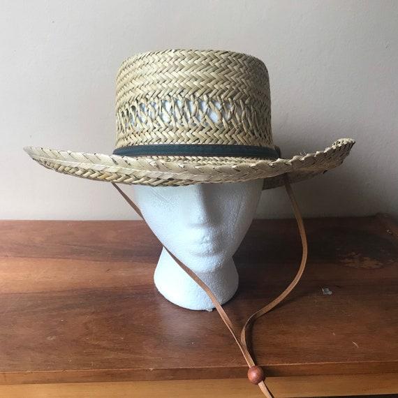 Peter Grimm Straw Hat, Sun Hat, Summer Hat, Straw… - image 2