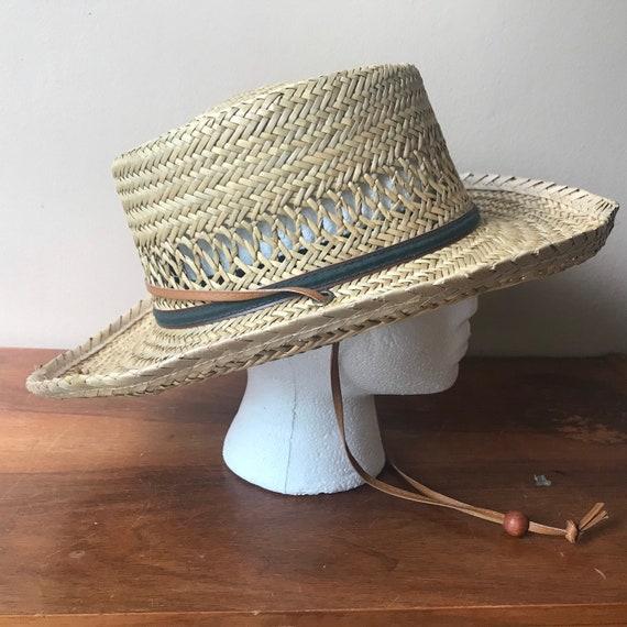 Peter Grimm Straw Hat, Sun Hat, Summer Hat, Straw… - image 1
