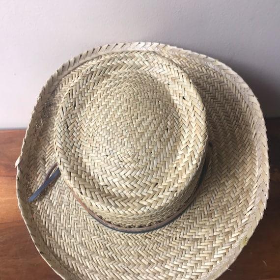 Peter Grimm Straw Hat, Sun Hat, Summer Hat, Straw… - image 5