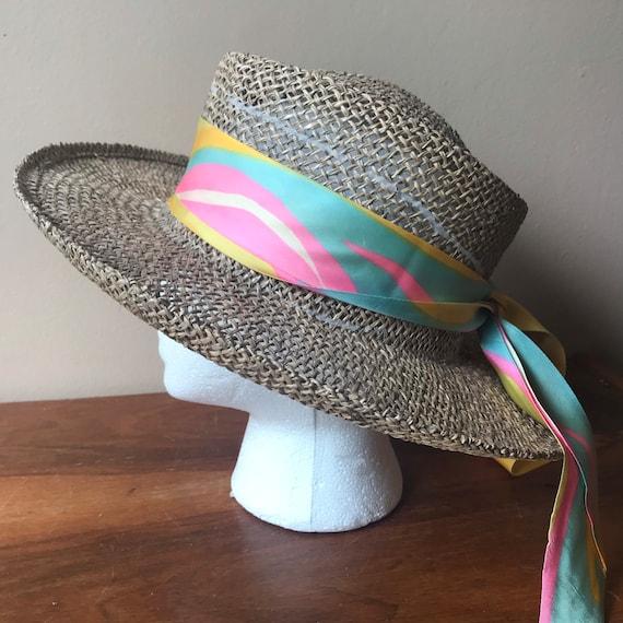 Betmar Straw Hat, Sun Hat, Summer Hat, Straw Beac… - image 1