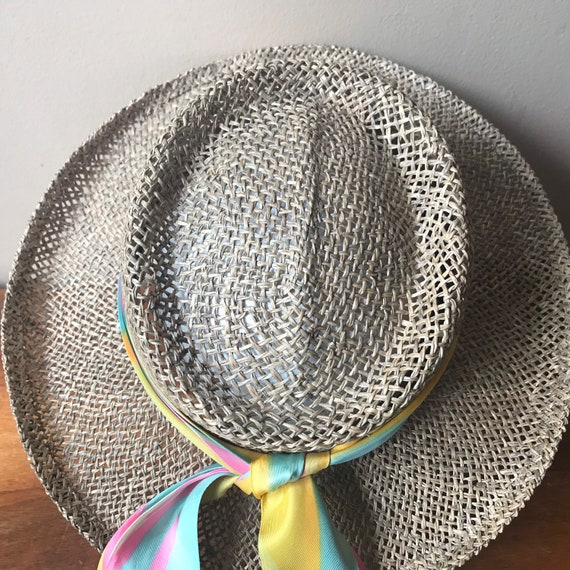 Betmar Straw Hat, Sun Hat, Summer Hat, Straw Beac… - image 5