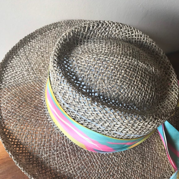 Betmar Straw Hat, Sun Hat, Summer Hat, Straw Beac… - image 4