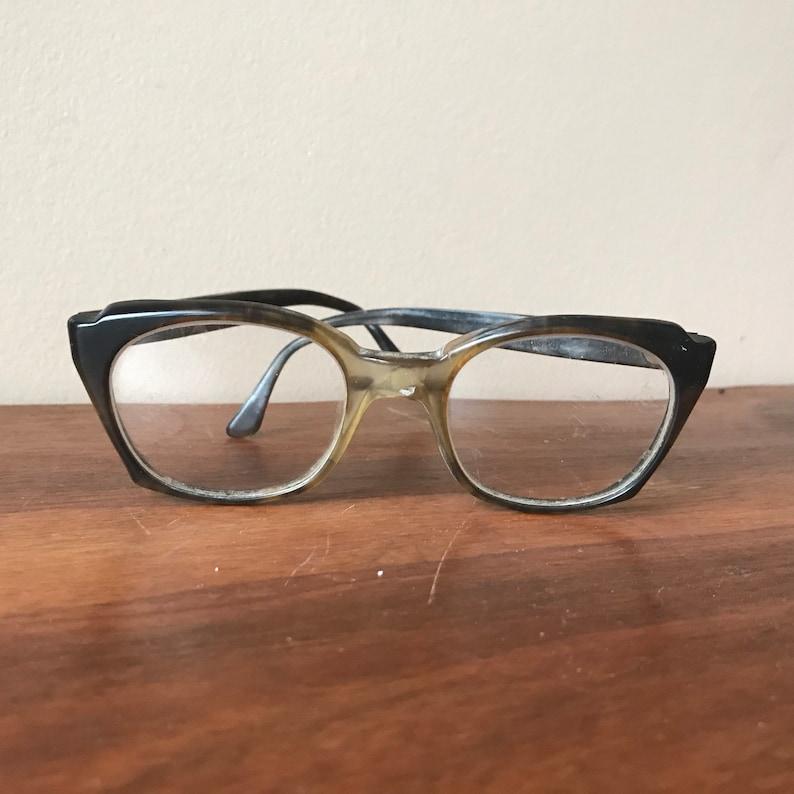 7f8f8d729b8 Vintage Titmus Z87 Safety Glasses Horn Rimmed Bifocals Frames