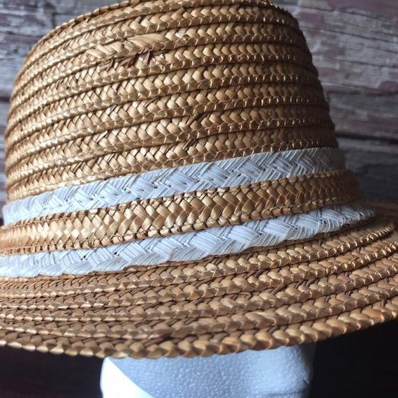 Straw Hat, Fedora, Sun Hat, Summer Hat, Beach - image 2