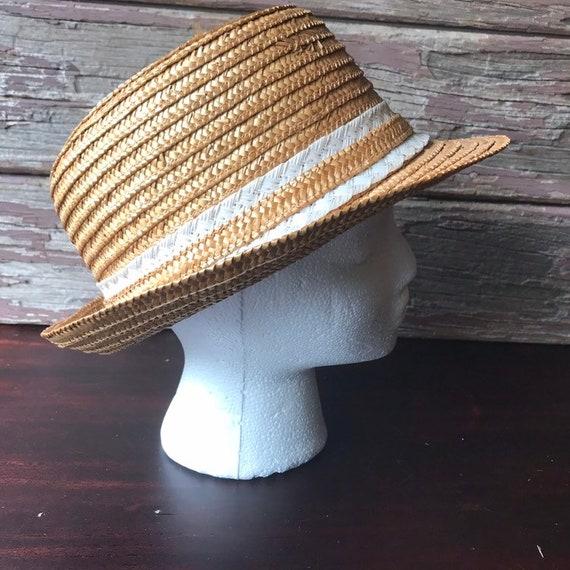 Straw Hat, Fedora, Sun Hat, Summer Hat, Beach - image 1