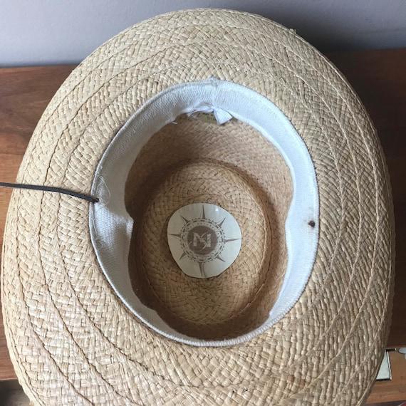 Sierra Club Straw Hat, Sun Hat, Summer Hat, Straw… - image 6