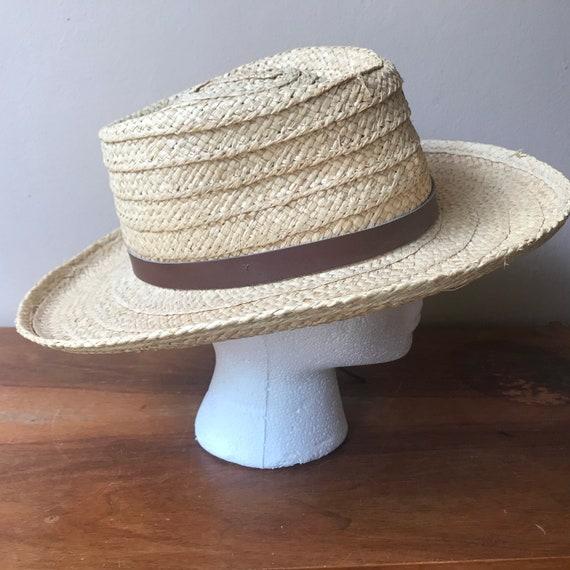 Sierra Club Straw Hat, Sun Hat, Summer Hat, Straw… - image 7