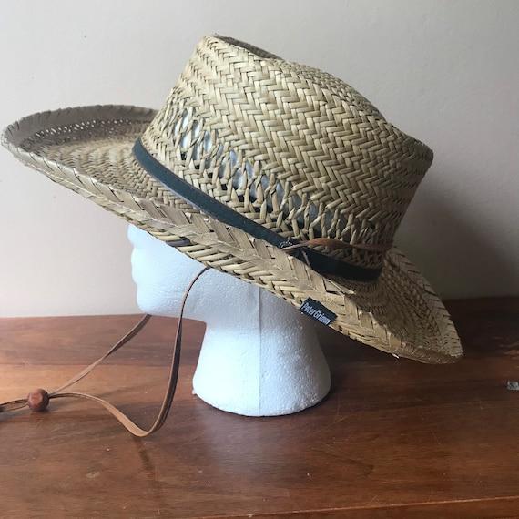 Peter Grimm Straw Hat, Sun Hat, Summer Hat, Straw… - image 3