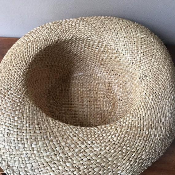 Straw Sun Hat, Floral Beach Hat, Summer Hat, Gard… - image 4