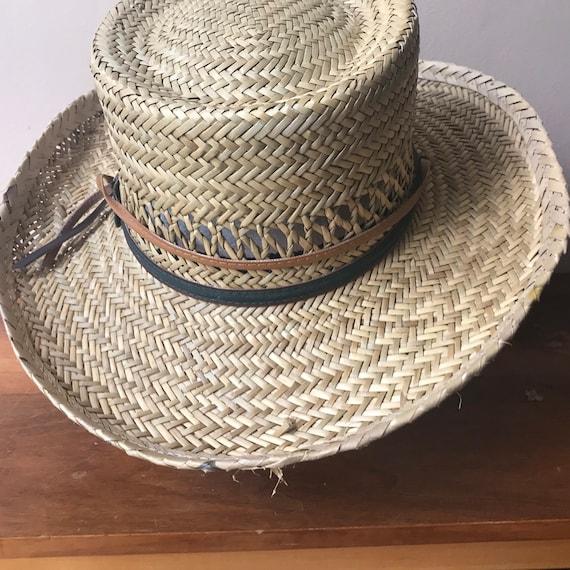 Peter Grimm Straw Hat, Sun Hat, Summer Hat, Straw… - image 4