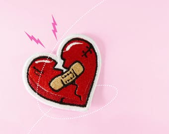 Heartbreakers Club Patch. Iron On - Appliques.