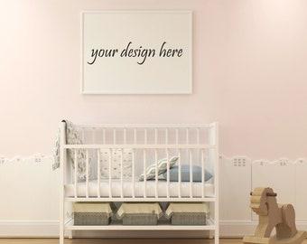 Download Free Frame Mockup, Frame Mock-Up, Simple Mockup, bed room, frame mockup Frame, Poster mockup, Wall Art Display, stock Photography | MPUBM_11_3 PSD Template