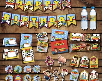 Toy Story party pack, toy story birthday, toy story party package, woody party, buzz lightyear, toy story birthday| PACK_TOY STORY
