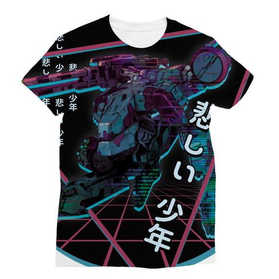 シ Vaporwave Aesthetic Metal Gear ReXxx Unisex Sweatshirt シ wtkj3f2n