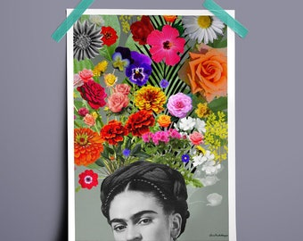 Art Canvas Print Poster FRIDA KAHLO LOVERS Paintings Wall Decor Canvas Painting Wall Picture No Frame