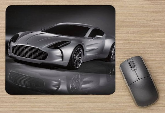Aston Martin Car Mouse Pad Cars Lover Gift Office Accessories Etsy - Aston martin accessories