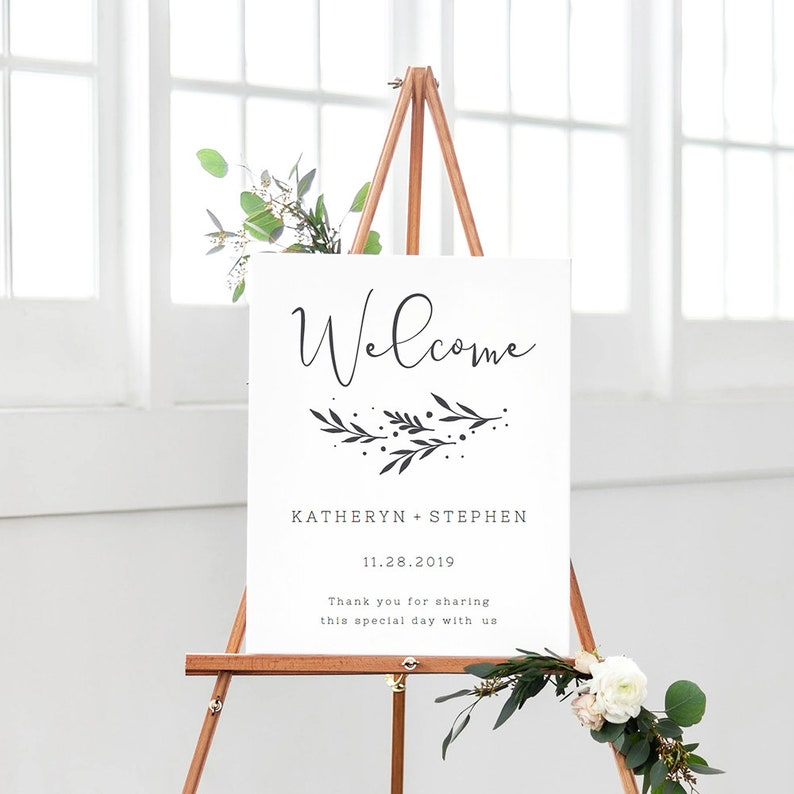 photograph relating to Welcome Sign Templates identify Marriage Welcome Signal Template, Rustic Marriage Reception Welcome Indicator, Do-it-yourself Marriage ceremony Welcome Indicator, Custom made Marriage ceremony Welcome Signal Template