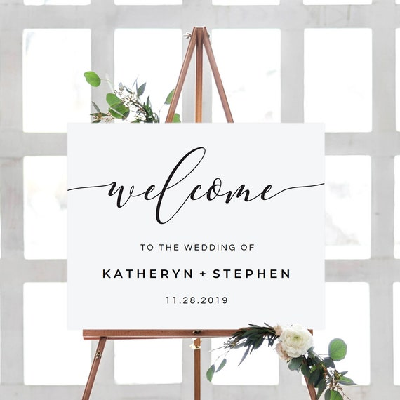 picture about Welcome Sign Templates named Marriage ceremony Welcome Indication, Do it yourself Wedding day Welcome Indicator, Marriage Welcome Indicator Template, Marriage Reception Welcome Indicator Template, Calligraphy Script