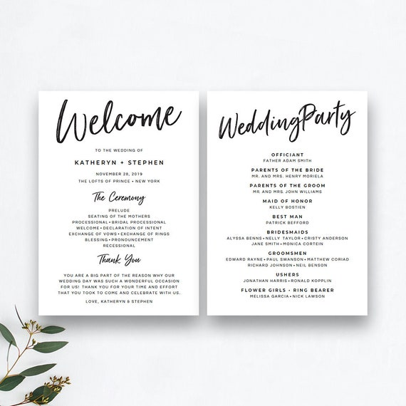 graphic relating to Printable Wedding Programs called Printable Wedding ceremony Computer software Templates, Rustic Wedding day Application Printable Templates, Do it yourself Revolutionary Marriage ceremony Packages PDF Templates Quick Obtain