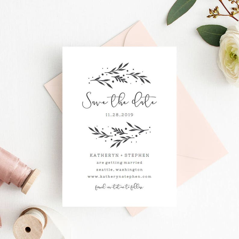 picture relating to Save the Date Printable Templates named Preserve The Day Invitation Templates, Printable Marriage Help save The Day Card Template, Rustic Marriage ceremony Conserve The Day Printable PDF Templates