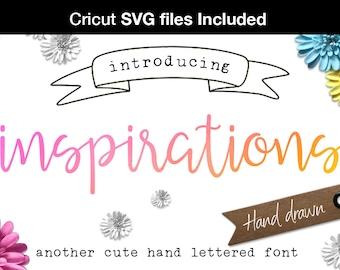 Digital font - Script Font Handwriting font svg font Wedding font Cricut design Monogram design lettering svg fonts