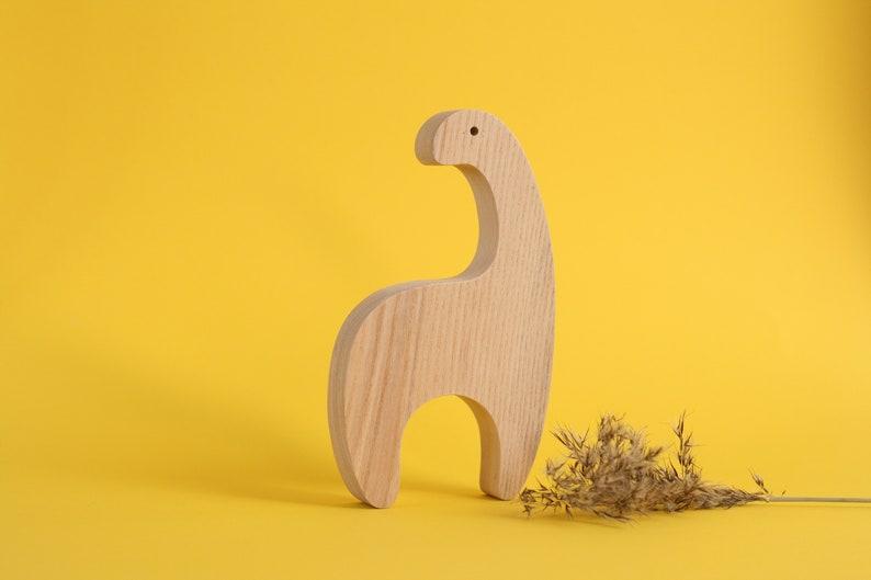 Handmade wooden giraffe toy wooden toy waldorf toddler image 0