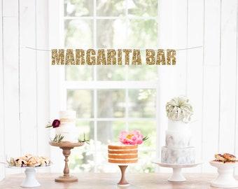 Margarita Bar Banner - Cindo De Mayo Banner - Margarita Party Banner